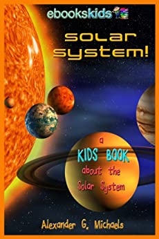 Solar System Kids Book About ebook product image