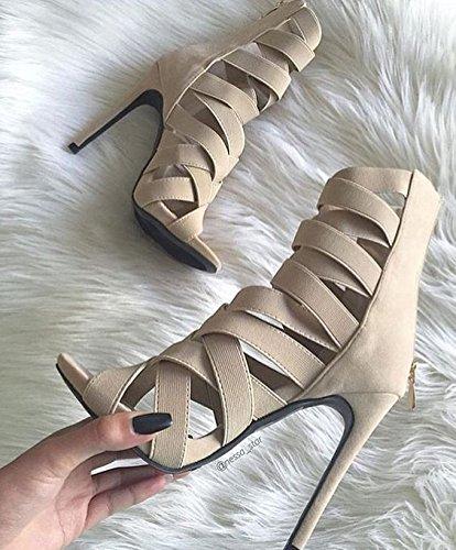 Zapatos de la sandalia del partido de las sandalias de vestir Pasarela White