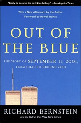 Free download books kindle Out of the Blue: A Narrative of September 11, 2001 PDF ePub iBook B000C4T26C