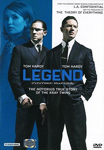 LEGEND (DVD, Region 3, Brian Helgeland) Tom Hardy, Emily Browning, Taron Egerton
