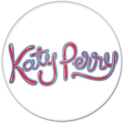 Katy Perry #3 Music Collection Bottle Opener Round Button Badges With Refrigerator Magnet, NEW 2.25 Inch (58mm)