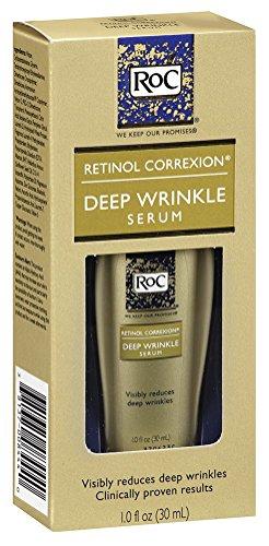Deep Serum Wrinkle (Roc Retinol Correxion Deep Wrinkle Serum 1oz (3 Pack))