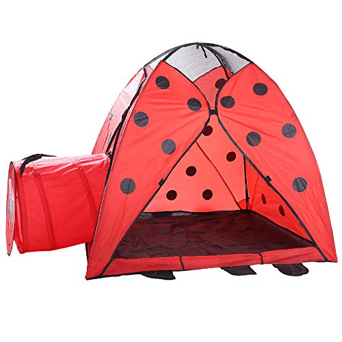 Kids Play Tunnels Creative Beetle Tunnel Play Tent Children Kids Summer Indoor Outdoor Foldable Playhouse Pop Up Tunnel Gift Toy by Sviper (Image #3)