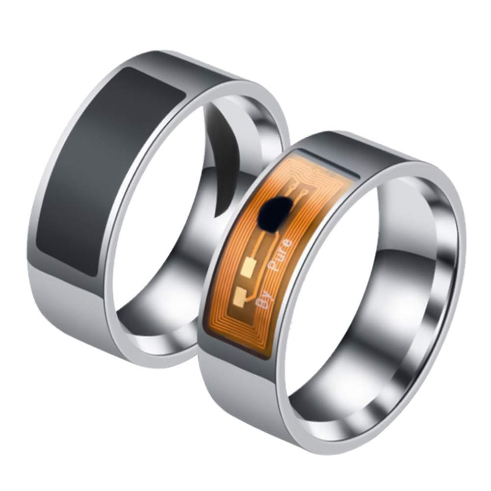 Fashion Rings/&Waterproof Multifunctional NFC Intelligent Digital Smart Ring for Android Window