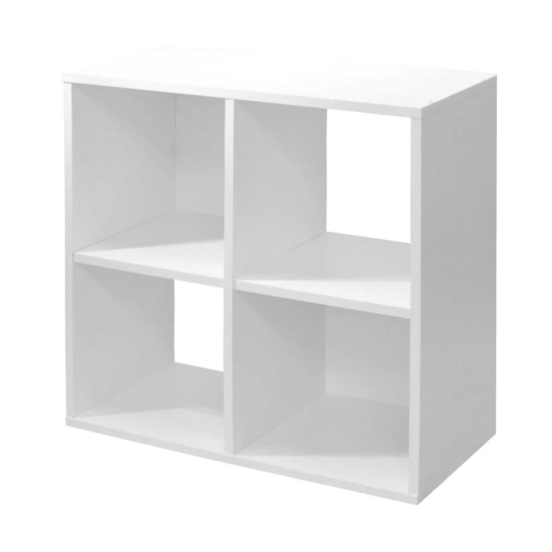 Devoted2Home Boldon 4-Shelf Unit Storage Furniture Wood White 29.5 x 61  sc 1 st  Amazon UK & Low Storage Unit: Amazon.co.uk