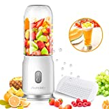 Portable Blender, JUSCHEF USB Rechargeable Travel Blender, Personal Blender for Shakes and Smoothies, Fast Blending, Detachable Cup, Safety Design, Speed 17,500 rpm (FDA Approved, BPA Free) For Sale