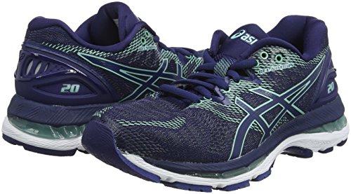 4949 Opal Women''s Shoes Blue Asics Blue 20 Running Indigo Indigo Blue Green Gel Nimbus OwddPU