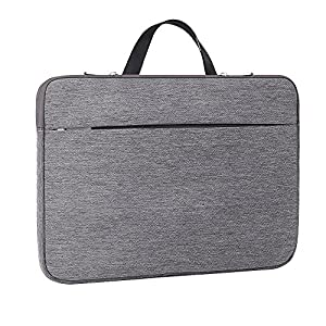 Laptop Sleeve 13-13.3 Inch,ATailorBird Notebook Ultrabook Protective Bag Case Shockproof with Hidden Handle Fit 13- 13.3 Inch MacBook Air/Pro/12.9 Inch iPad Pro/HP/Dell/Thinkpad/Asus/Acer/Samsung,Gray