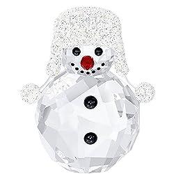 Crystal Christmas Figurine SNOWMAN