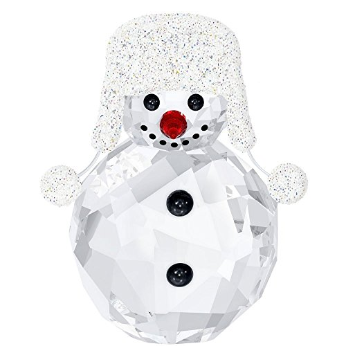 Swarovski Crystal Christmas Figurines - Swarovski Crystal Christmas Figurine SNOWMAN #5004516