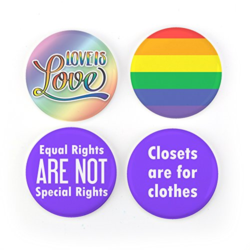 Love Pinback Button (Buttonsmith Love Is Love 1.25