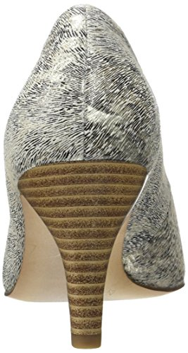 Caprice 22412, Zapatos de Tacón para Mujer Blanco (Offwhite Leo)