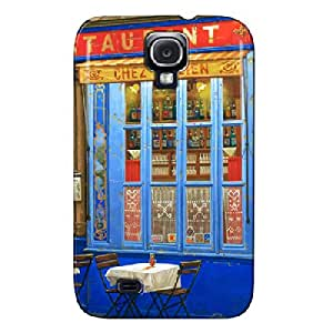 Anti-shock Navy TPU Restaurant Other For Sumsang Galaxy S4 Restaurant Protective Case