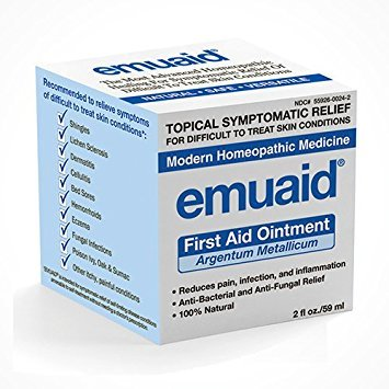 2 Packs of Emuaid First Aid Ointment - 2 Oz