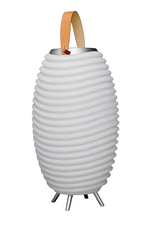 Kooduu Synergy 65 – Lámpara LED, Altavoz Bluetooth, Pot de Flor ...