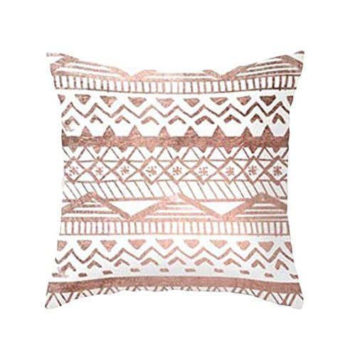 18' Tropical Decor (18''x18'' FimKaul Printed Cushion Case Gift Marble Texture Soft Sofa Bed Car Throw Square Pillow Covers (D))