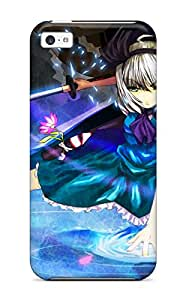 Hot Tpu Cover Case For Iphone 5c Case Cover Skin Touhou
