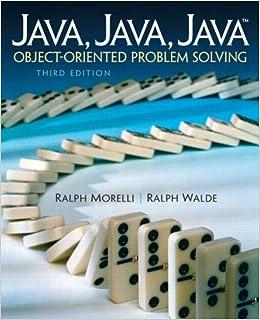 Java, Java, Java, Object-Oriented Problem Solving: Amazon co uk