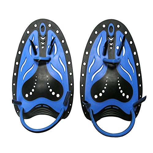 FidgetFidget Fins Swimming Hand Paddles Webbed Gloves Surfing Flippers Training Footwear 2Pcs from FidgetFidget