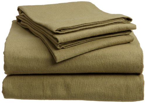 Divatex 100-Percent Cotton Flannel Cal King Sheet Set, (King Cal Flannel Sheets)