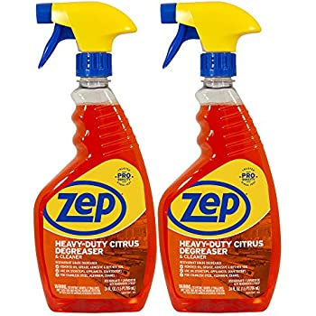 Zep Heavy-Duty Citrus Degreaser and Cleaner 24 Ounce (Case of 2) - Cannot BE Purchased in California