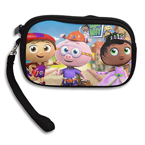 Super Why Princess Pea Purse Wristlet Bag