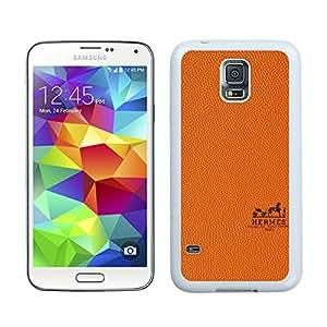 Beautiful Unique Designed Samsung Galaxy S5 I9600 G900a G900v G900p G900t G900w Cover Case With Hermes 4 White Phone Case