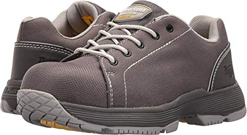 Alsea 5 Toe B Gull Martens Women's Sd Dark 5 eye Dr Composite Uk Grey Work Shoe 014gqWt