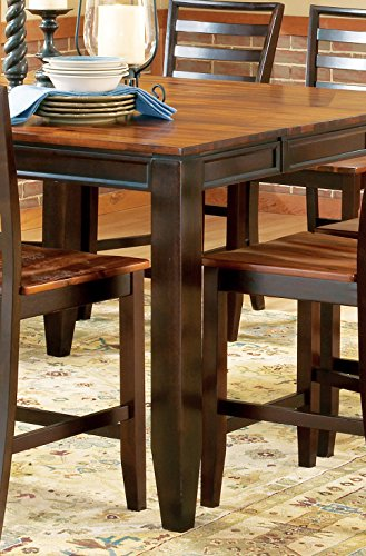 "Steve Silver Company Abaco Counter Table with 18"" Butterfly Leaf"