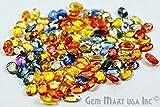 GemMartUSA 5 Carat Loose Multi Cut and Polish Sapphire, Mix Color Mix Shapes, Mix Gems, Mixed Gemstone