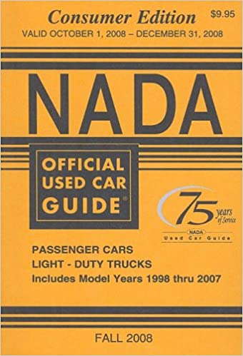 Download online NADA Official Used Car Guide, Volume 17: No. 4, Consumer Edition (NADA Official Used Car Guide: Consumer Edition) PDF, azw (Kindle), ePub