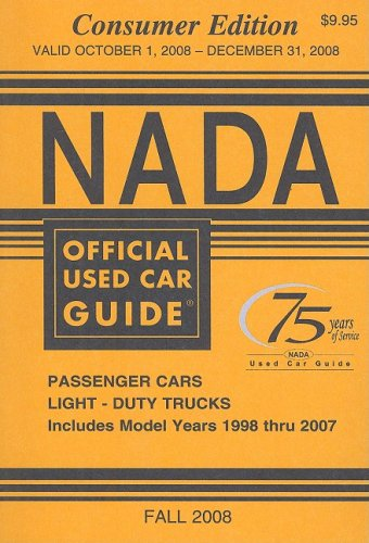 Download NADA Official Used Car Guide, Volume 17: No. 4, Consumer Edition (NADA Official Used Car Guide: Consumer Edition) PDF ePub ebook