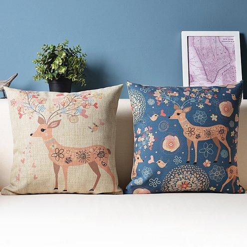 Nuevo diseño de ciervo - Designs Nordic IKEA cojines de sofá ...
