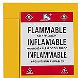 Mophorn Flammable Cabinet Galvanized Steel 1 Door