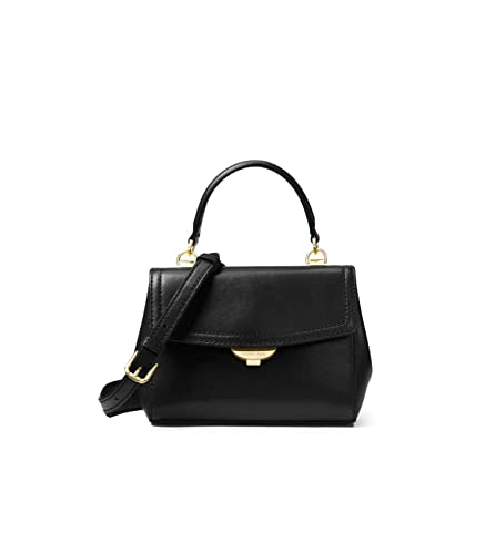 2c976b2db4bf02 Michael Kors Ava Extra-small Leather Crossbody, Women's Cross-Body Bag,  Black