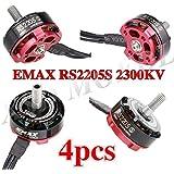 4set/lot Original EMAX RS2205S 2300KV Racing Edition Brushess Motor 3-4S for DIY mini drone QAVR250 quadcopter