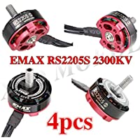 4set/lot Original EMAX RS2205S 2300KV Racing Edition Brushess Motor 3-4S for DIY mini drone QAVR250 quadcopter