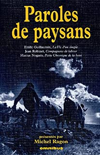 Paroles de paysans, Guillaumin, Emile