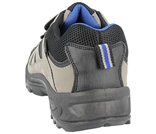 Black Foster Uomo Ragazzi Grey Stivaletti Blue Footwear wwqAUH