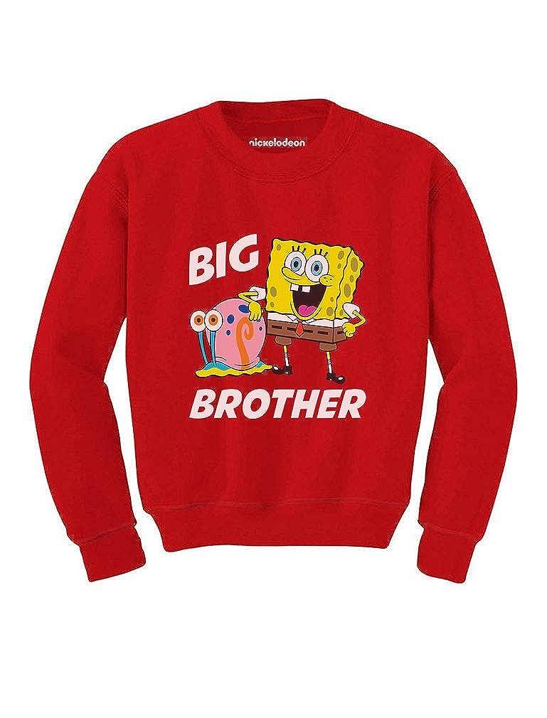 Spongebob and Gary Big Brother Funny Toddler//Kids Sweatshirt Tstars