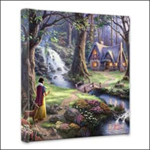 Thomas Kinkade Snow White 14