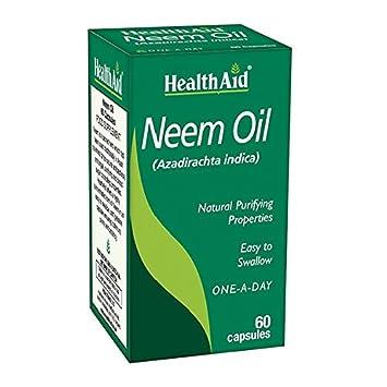 Healthaid Neem Oil 60caps