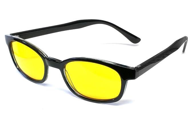 47c465121d3 Amazon.com  Calabria 1488 Night Driving Sunglasses in Gloss Black ...
