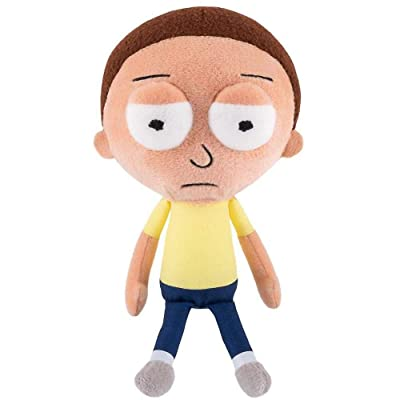 Funko Rick And Morty Galactic Plushies Morty Mad Plush Figure: Toys & Games