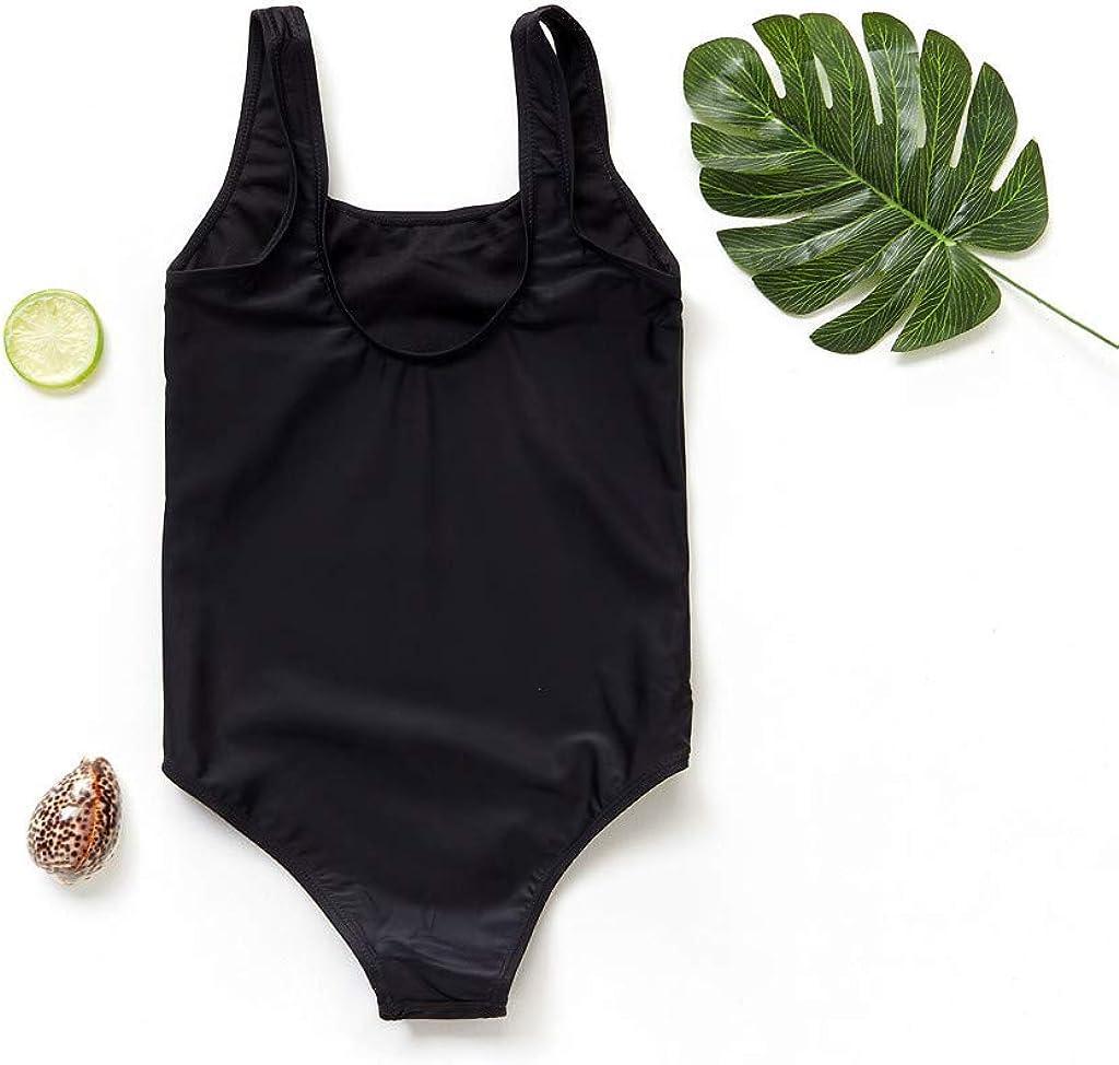 ZXjymll//~ Girls One Piece Swimsuit Pineapple Print Swimwear Beach Cute Bathing Suit Bikini