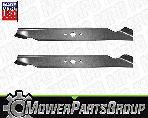 (2) Blades Replace Cub Cadet MTD 942-04244 942-04290 LTX1046 LTX1045 46