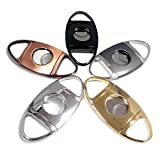 CyJay Cigar Cutter Stainless Steel Guillotine Style