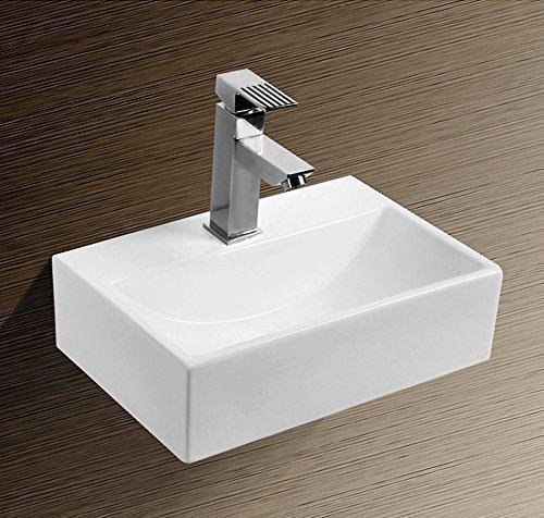 Burgtal 17538 Design Keramik Wandmontage Waschbecken Handwaschbecken BKW-10