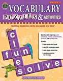 Vocabulary Puzzles and Activities, Grade 5, Teacher Created Resources, 1420680773