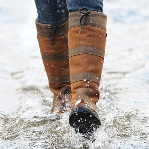 nbsp; Dublin alto River scuro stivale marrone impermeabile qT6YnTrv